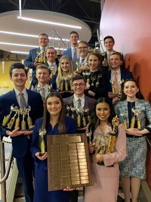 SIC Forensic Falcons are 2020 Illinois State Champions; Public Invited to Performance April 2
