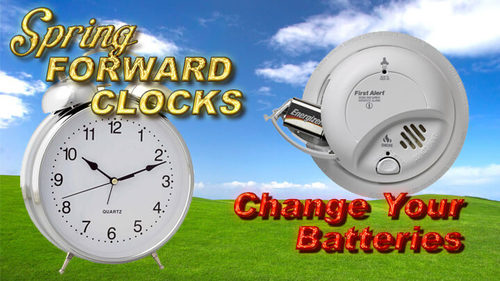 """State Fire Marshal Reminds Illinoisans to """"Change Your Clock, Change Your Batteries"""""""
