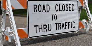 Stewart Street Closed Today Between Illinois Street and Burrell Street