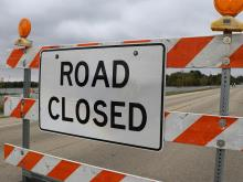 Stewart Street Closed Again Today (Tuesday) Between Illinois Street and Burrell Street