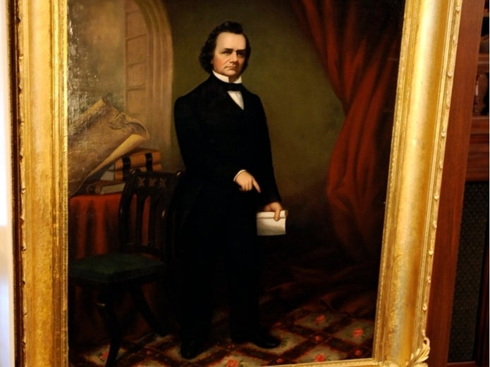 Statement from Speaker Madigan Regarding Removal of Douglas Portrait and Statue