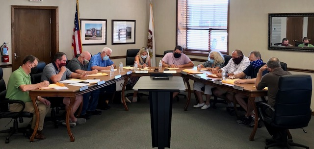 Carmi City Council Met Briefly Tuesday; Pay Request and TIF Facade Grant Approved