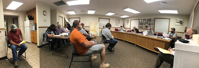 Grayville City Council Met Monday Night
