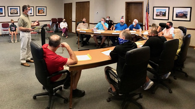Halloween Events Cancelled; Hillsdale Water Line Grant Update; City Refi's Loan to Free Up $150,000+ in Operating Cash; More from September 1st Carmi City Council Meeting
