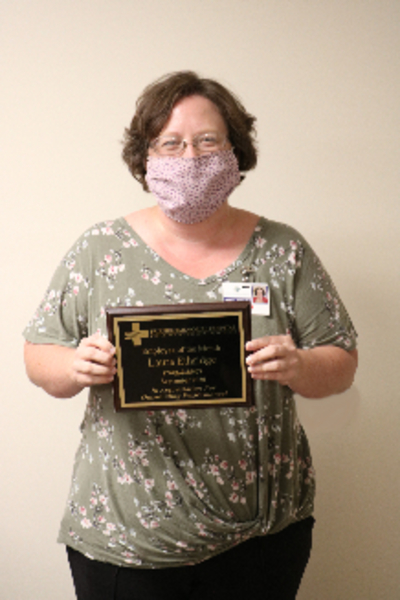 FMH PRESENTS SEPTEMBER EMPLOYEE OF THE MONTH