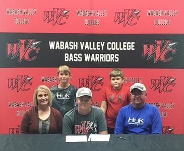 Wabash Valley College bass team signs Lane Bradley of Newton