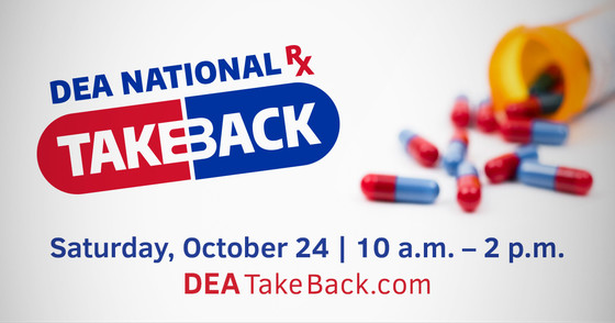 Indiana State Police Partners with DEA for 19th Drug Take Back Day