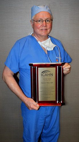 DR. PATRICK MOLT HONORED FOR YEARS OF SERVICE TO STATE HOSPITAL NETWORK