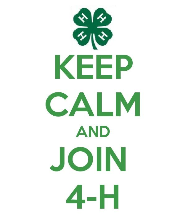 Join the 4-H Cloverbuds; Pre-registration January 21st