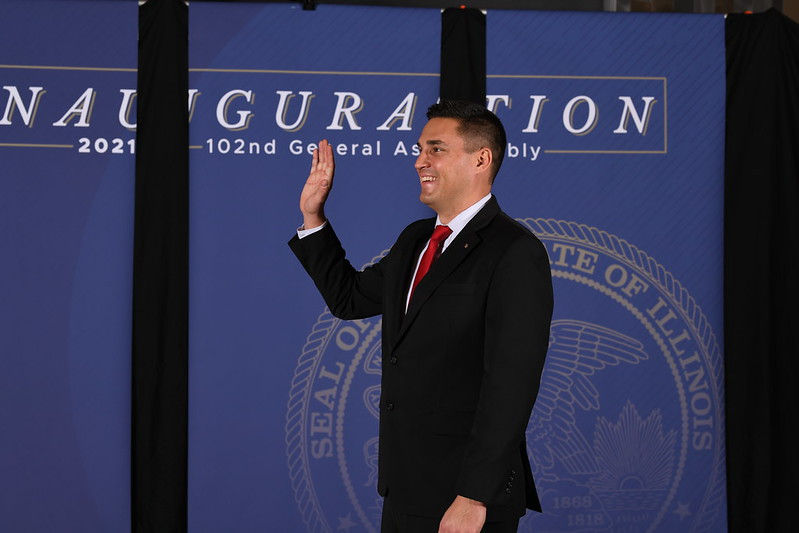 Adam Niemerg Sworn In to 102nd General Assembly:  Top Priorities are Protecting Innocent Life and State Reforms