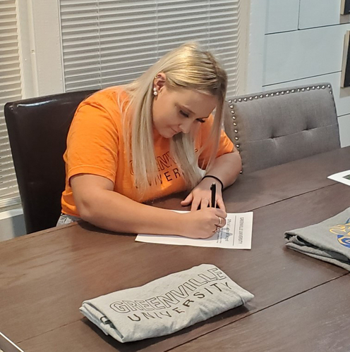 SIC's Pugh to Continue Softball Career at Greenville University