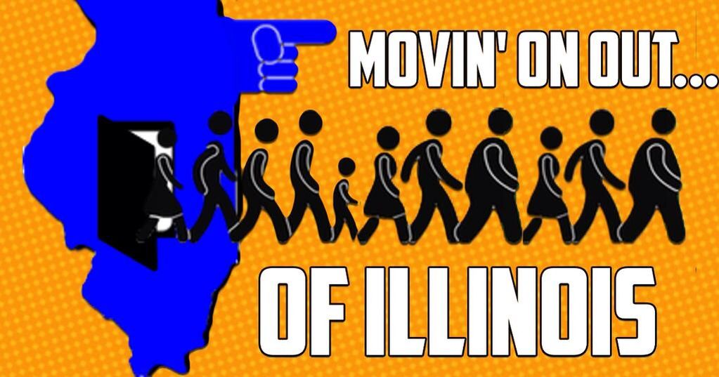 Illinois 3rd In Nation for Outbound Migration