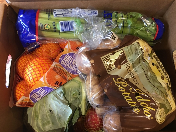 Produce Box Giveaway Wednesday at White County Senior Citizens Center