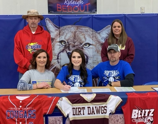 Bebout Signs to Play Softball with SIC
