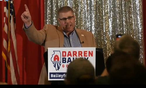 State Senator Darren Bailey Announces Run for Illinois Governor in 2022
