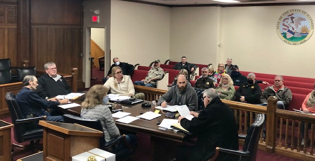 White County Board Met Tuesday Night; White County Property Taxes Discussed