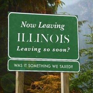 Illinois Taxes Highest in the Nation