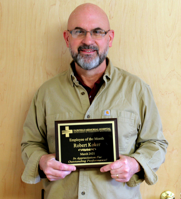 FMH PRESENTS  MARCH EMPLOYEE OF THE MONTH