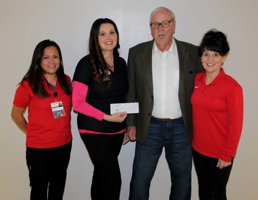JERRY COX FOUNDATION TRUST DONATES TO THE FAIRFIELD MEMORIAL HOSPITAL THERAPY DEPARTMENT