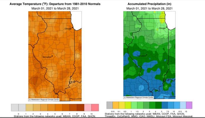 USDA NASS – Illinois Crop Progress and Condition Report