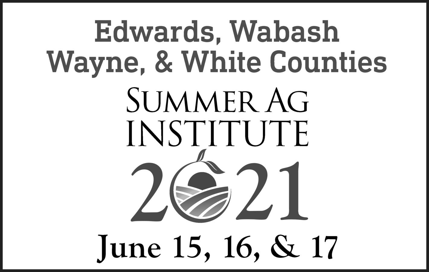 Summer Ag Institute Registration Opens April 1