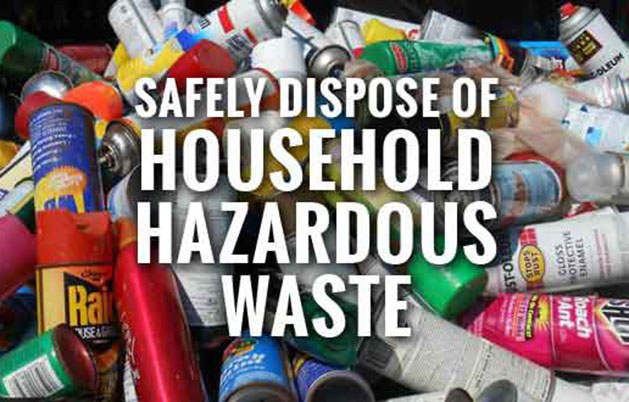 Illinois EPA Announces Spring Household Hazardous Waste Collection Events for 2021