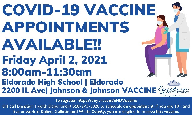 Vaccine Appointments Available!