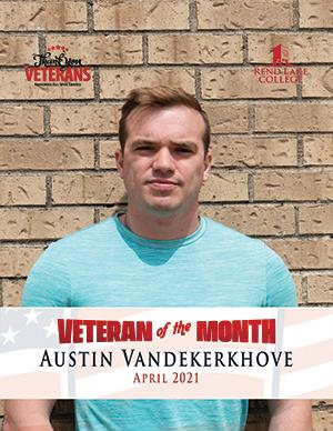 Vandekerkhove Named April 2021 RLC Veteran of the Month