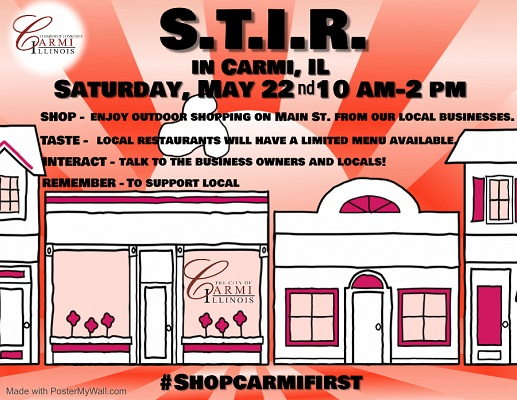 Carmi STIR is Saturday