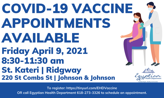 EHD to Hold Vaccination Clinic Friday in Ridgway