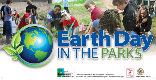 Earth Day in the Parks Events Involve Students, Scouts in Natural Resources Stewardship