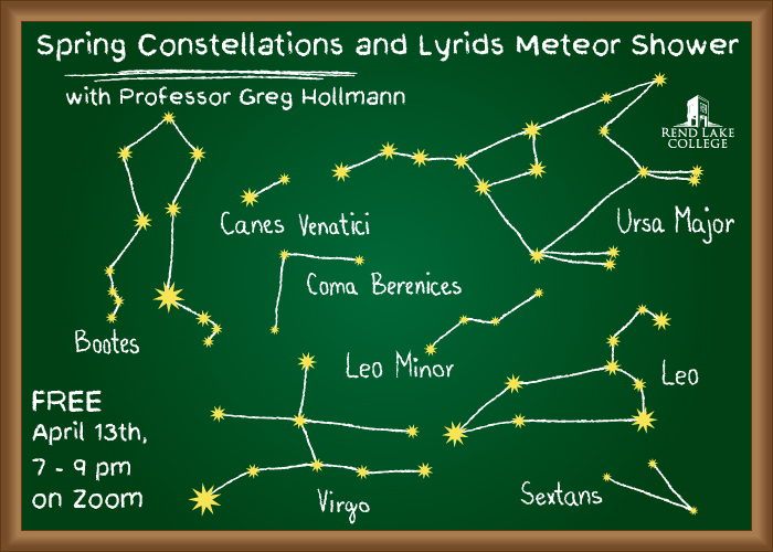 Free RLC Community Education Class to Focus on Spring Constellations