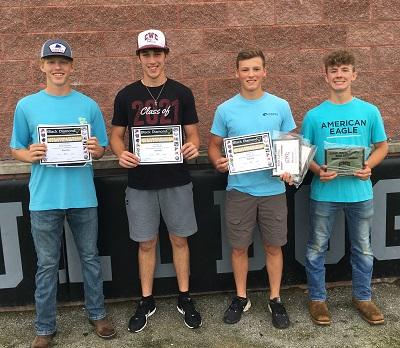 Carmi-White County Baseball Players Honored