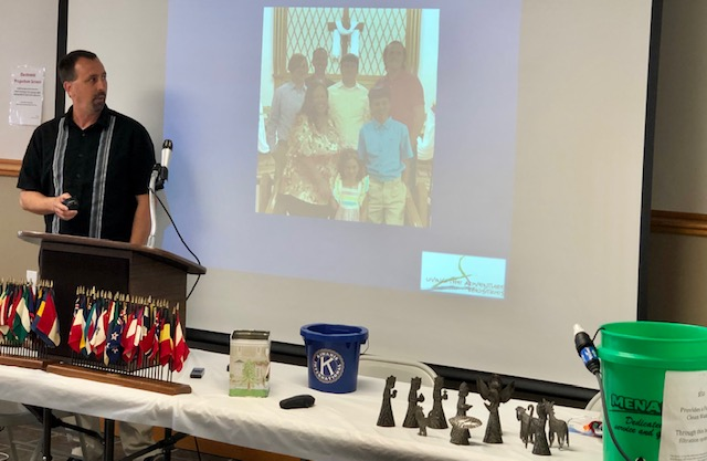 Kiwanis Learns About Albion Man's Mission Work in Haiti