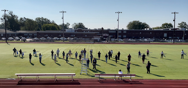 Carmi White County High Band Preparing for Fantasia Themed Halftime Show to Wrap Football Season